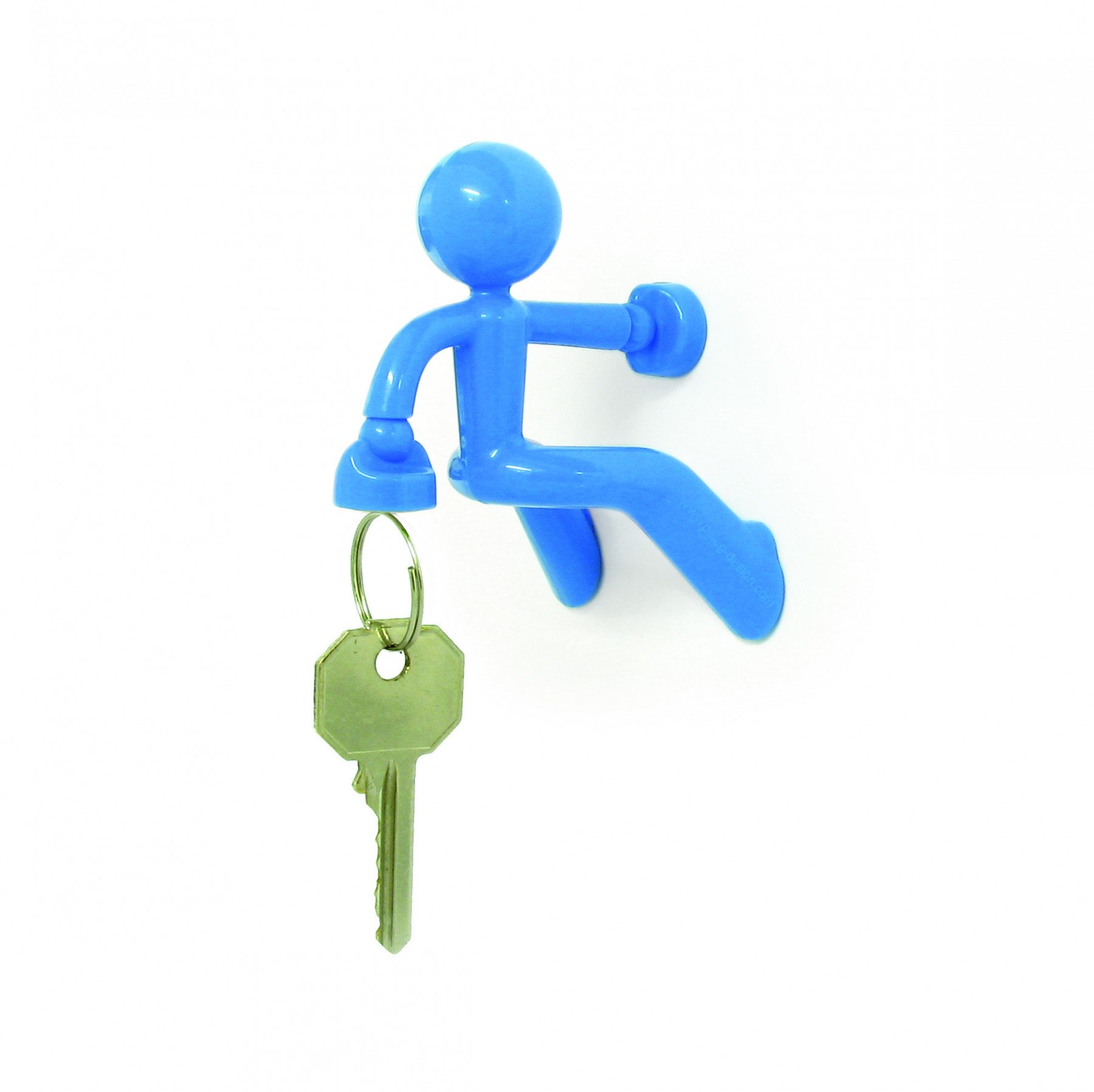 Magnetischer Schlüsselhalter Pete blau