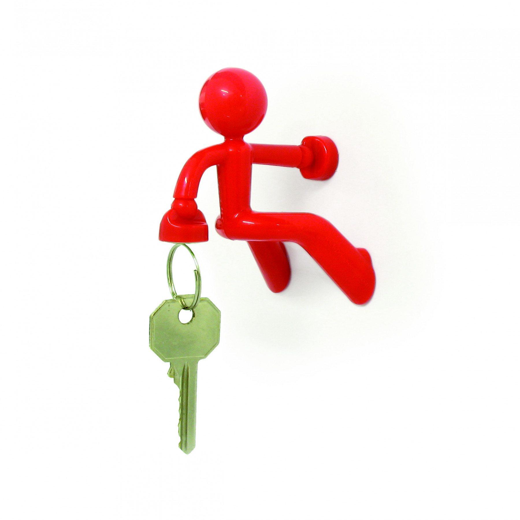 Magnetischer Schlüsselhalter Pete rot