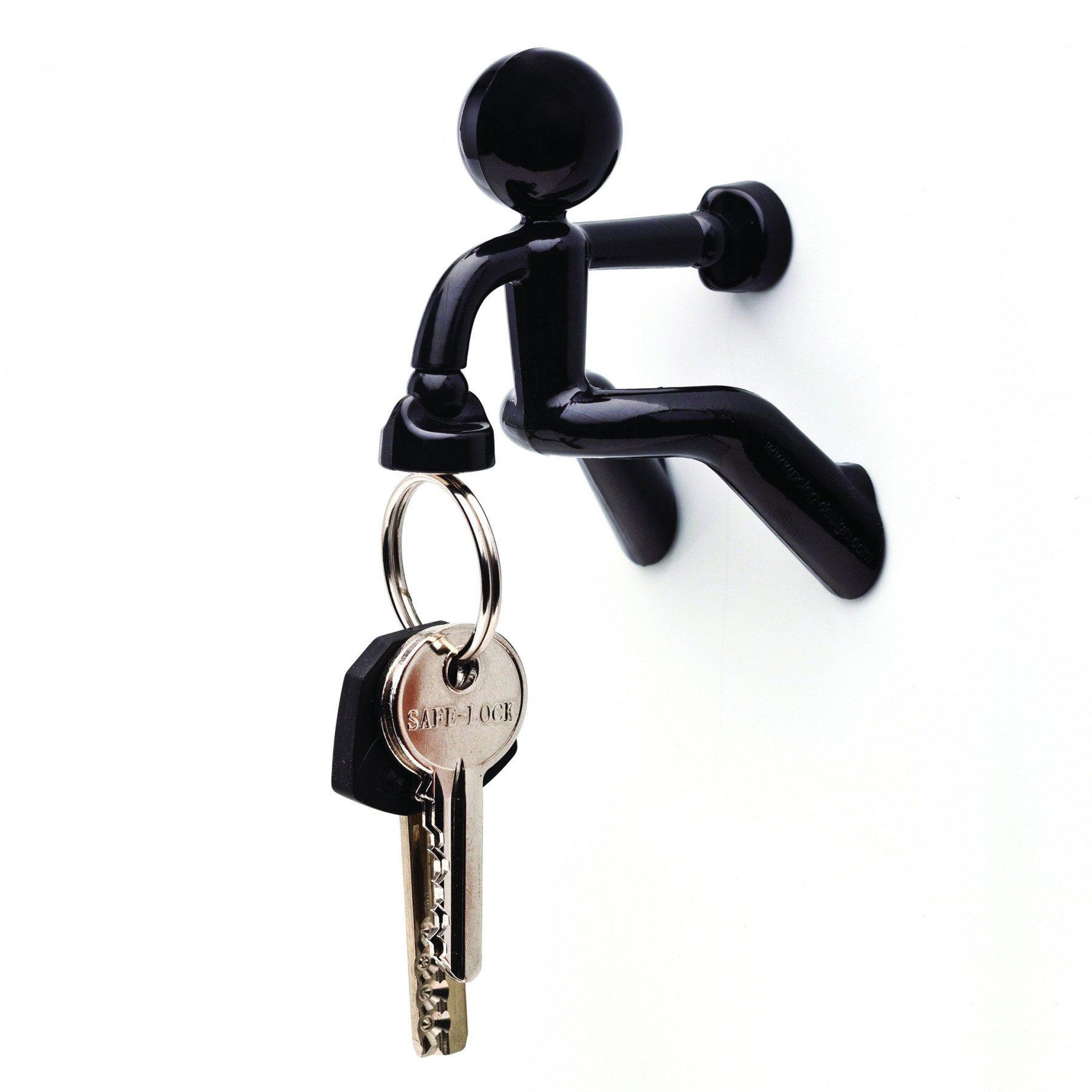 Magnetischer Schlüsselhalter Pete schwarz