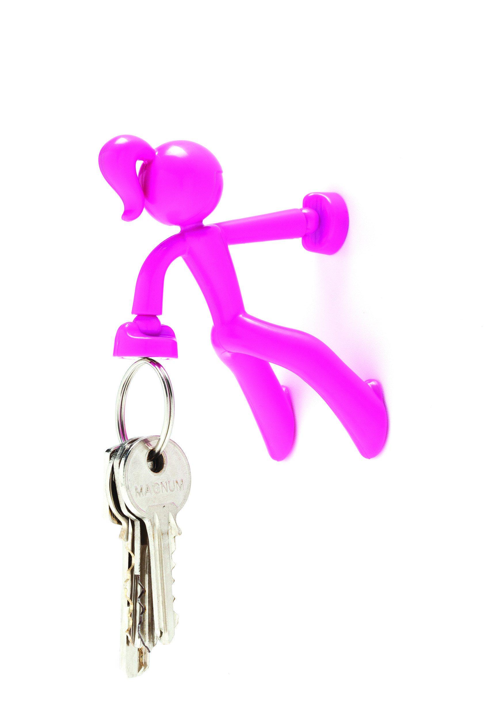 Magnetischer Schlüsselhalter Petite pink