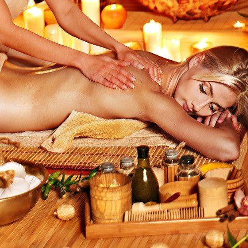 Masaje relajante con aceites calientes - Barcelona