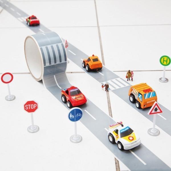 Mi primera autopista – Cinta adhesiva para decorar y jugar