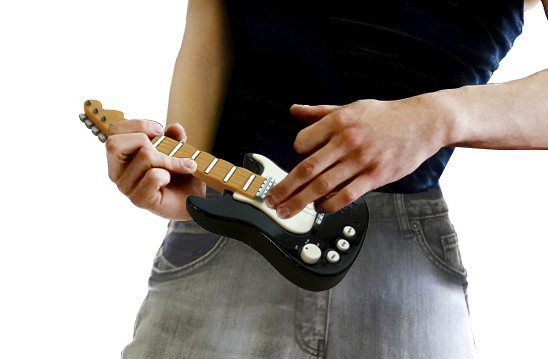 Mini E-Gitarre