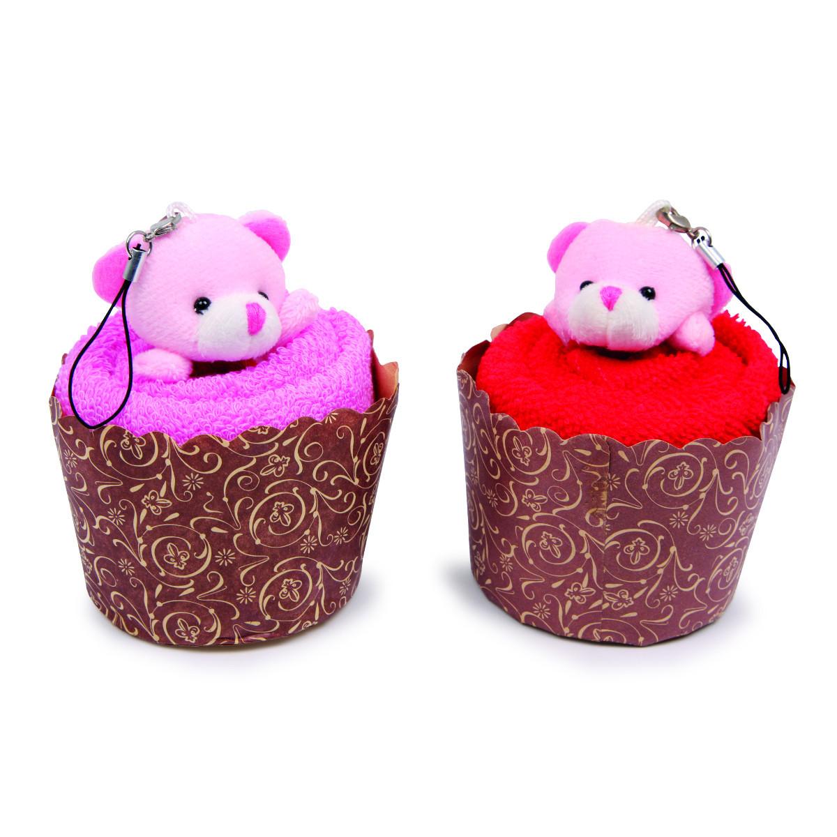 """Mini-Geschenkset """"Handtuchmuffins"""""""