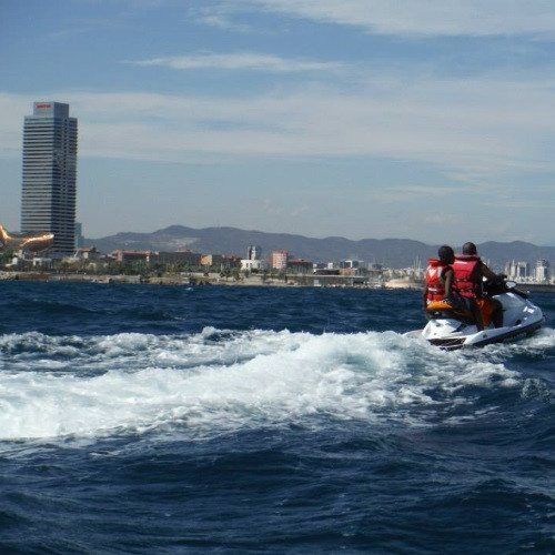 Moto de Agua - Barcelona