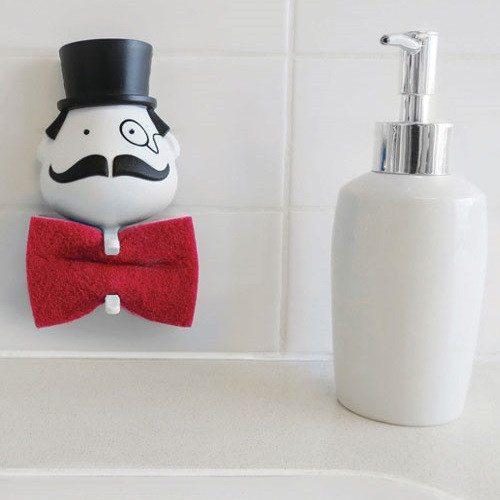 """""""Mr Sponge"""" - El soporte para esponjas más gracioso"""