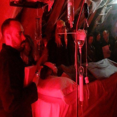 Noche en el Hotel de los Horrores con espectáculo - Madrid