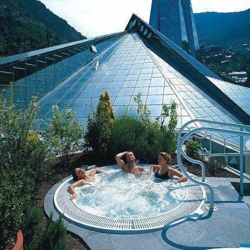 Noche en Hotel 5 *, Caldea noche y Cena especial - Andorra