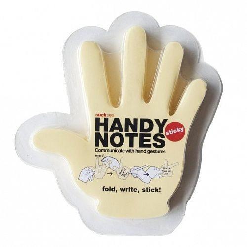 Notizzettel Hand