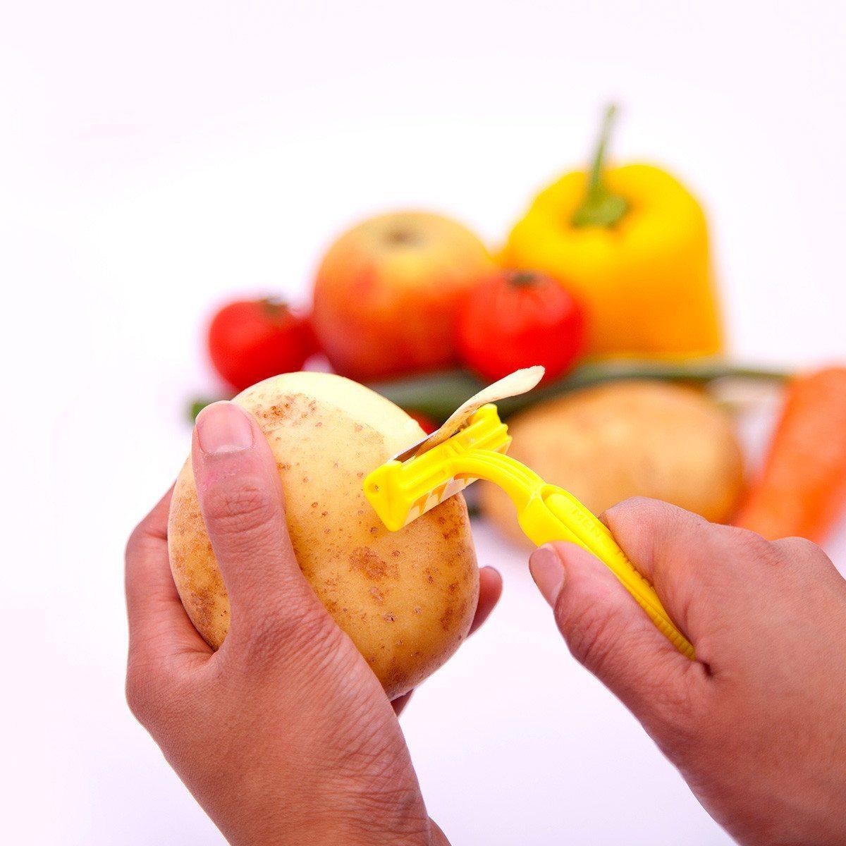 """Obst- und Gemüseschäler """"Rasierer"""""""