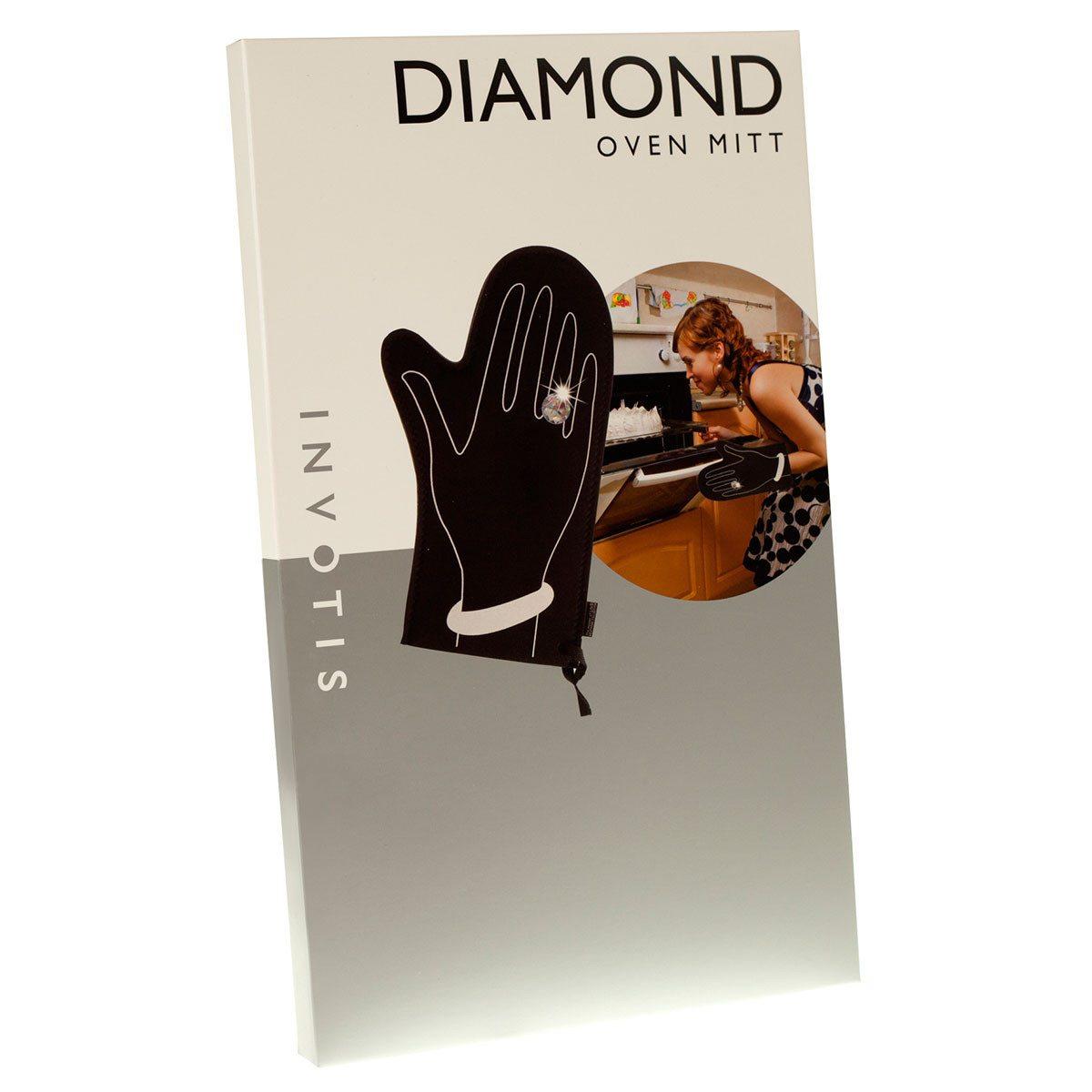 Ofenhandschuh mit Diamant