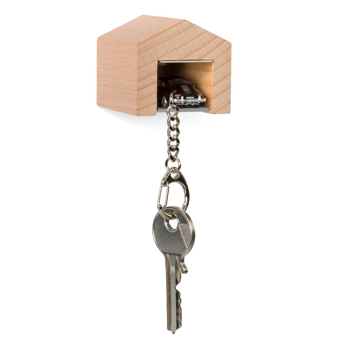 """Oldtimer-Schlüsselanhänger mit """"Garage"""""""