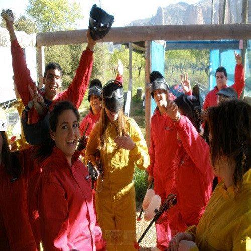 Paintball en grupo - Huesca