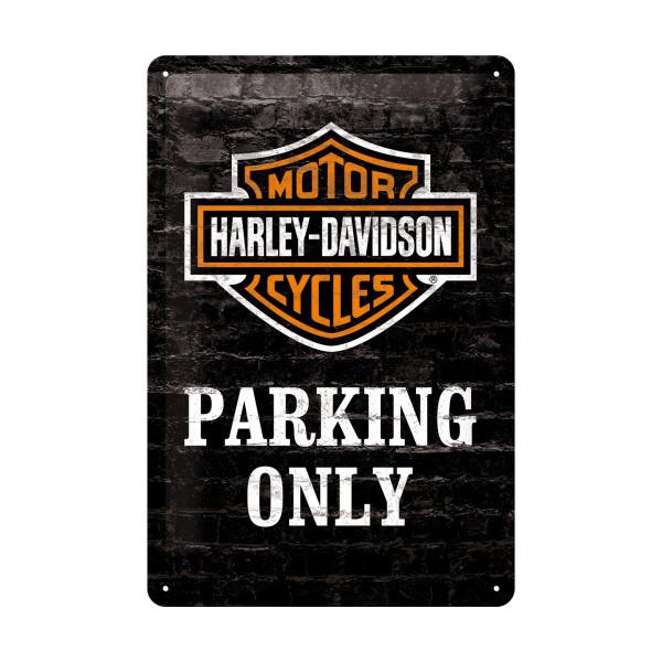 """ … Parking Only"" - Retro-Blechschild"