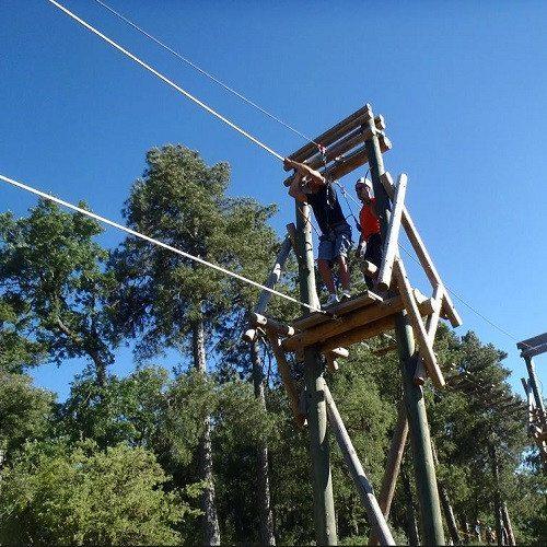 Parque acrobático multiaventura - Cuenca