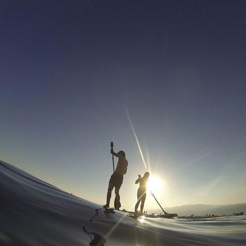 Paseo en barco + Paddle Surf en pareja - Madrid
