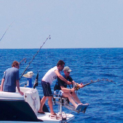 Pesca en familia - Mallorca