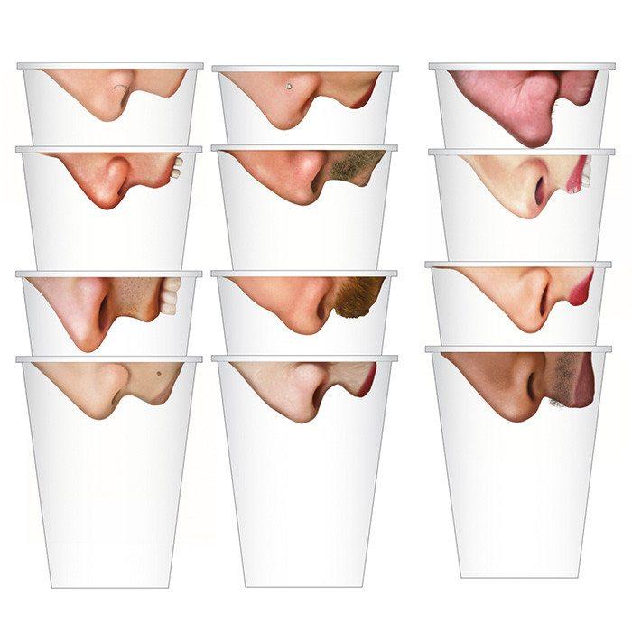 Pick your Nose - Lustige Trinkbecher