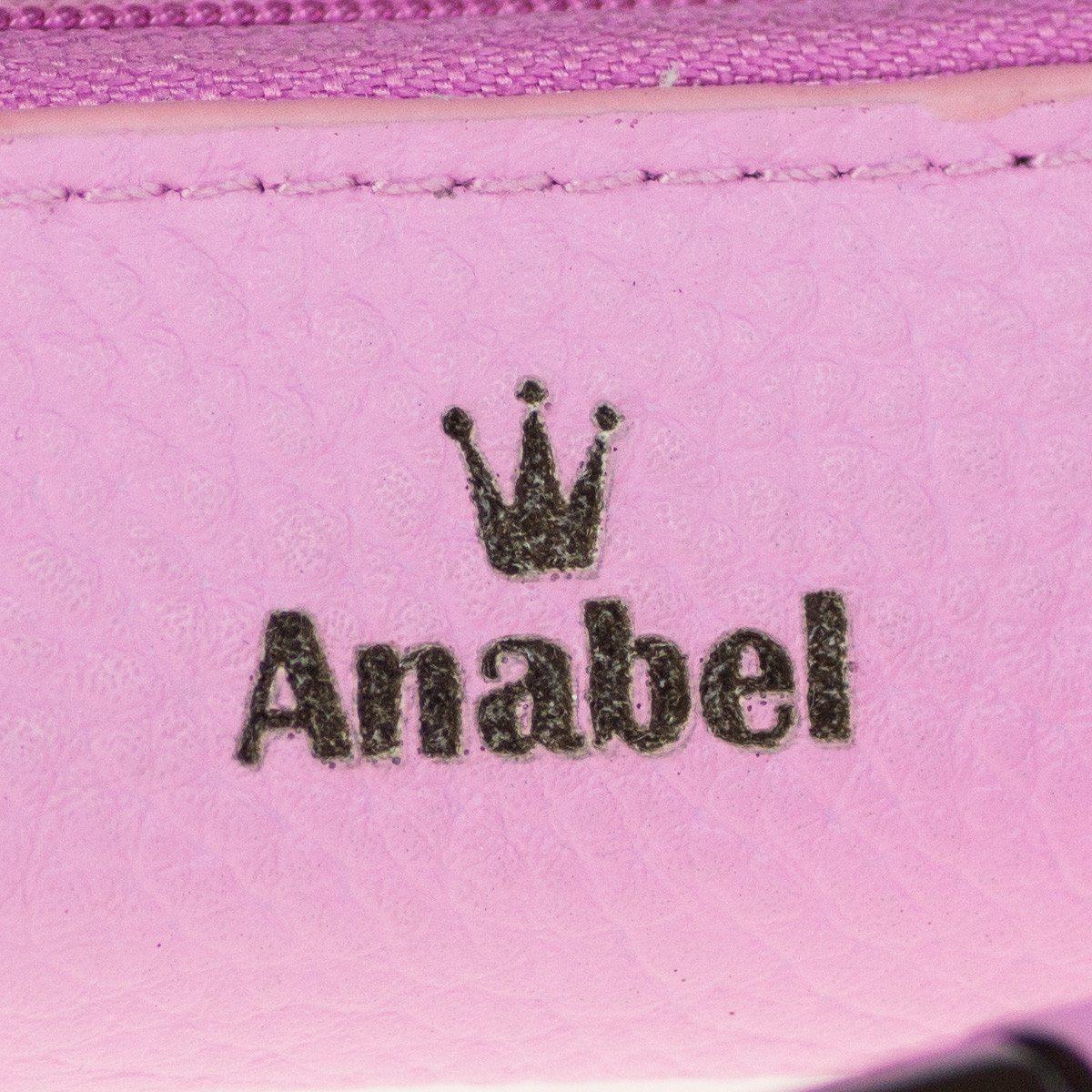 Pinker Leder-Kugelschreiber im Etui mit Gravur