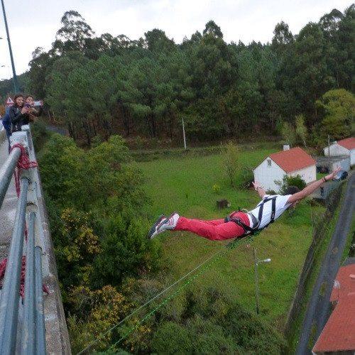 Puenting sobre la ría de Muros y Noia - Coruña