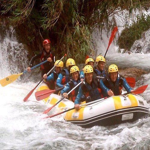 Rafting en aguas bravas - Castellón