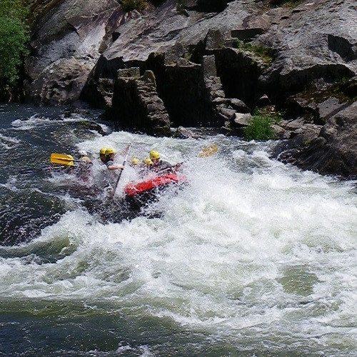 Rafting en el rio Ulla - Pontevedra