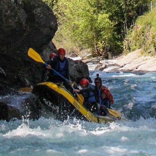 Rafting rio Esera - Pirineos de Huesca