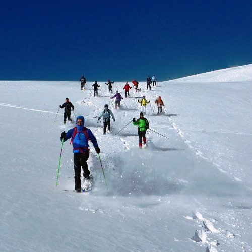 Raquetas de nieve por Tarter en pareja - Andorra