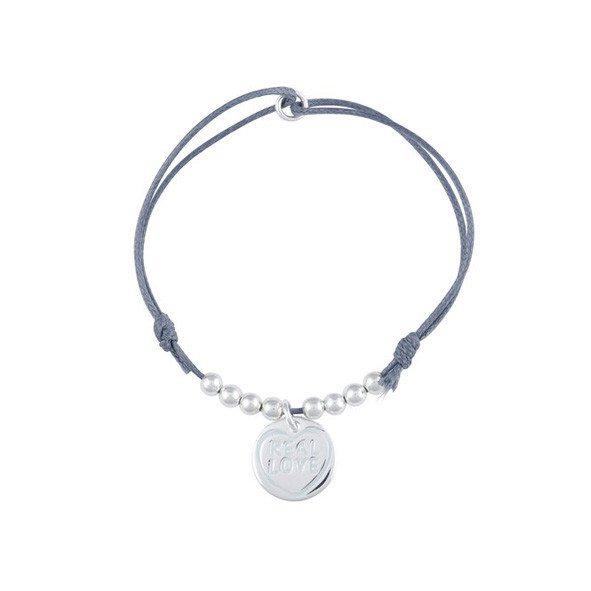 Real Love Armbänder - Grau