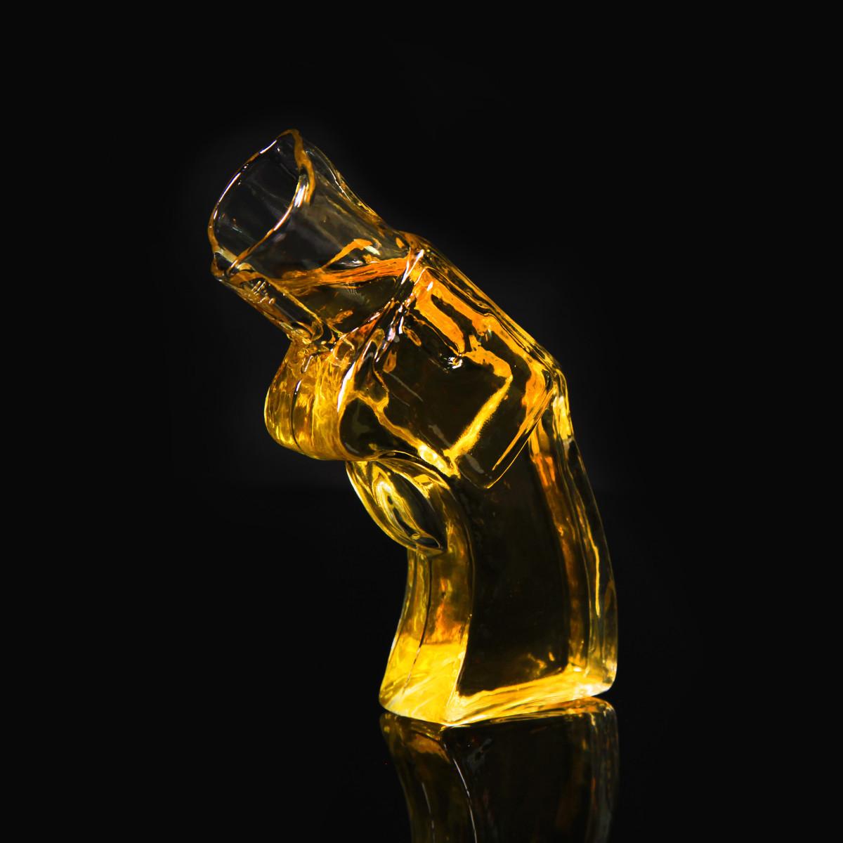 Revolver-Schnapsglas