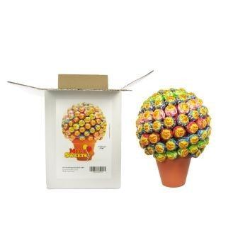 Riesiger Chupa Chups Lolli Pop Baum mit Verpackung