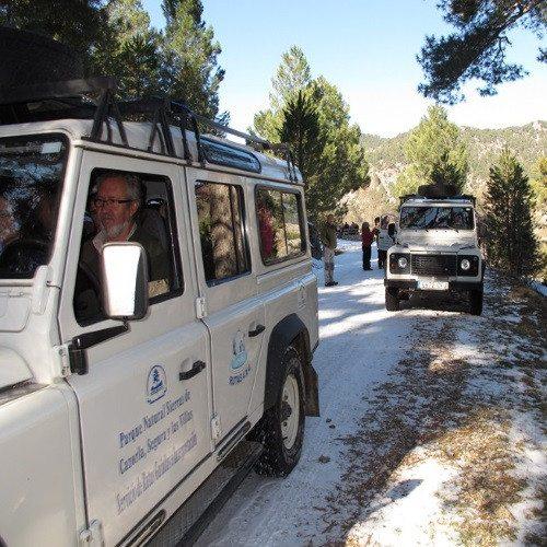 Ruta 4x4 Valle del río Borosa - Jaén