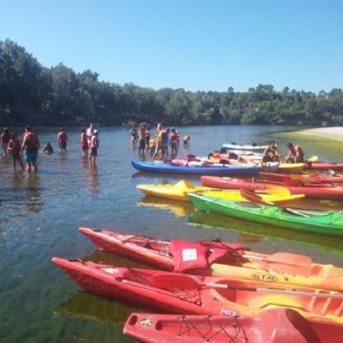 Ruta en Kayak por el Meandro del río Ebro - Tarragona