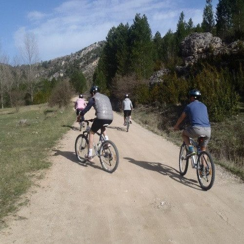 Ruta en Mountain Bike por el Alto Tajo - Madrid
