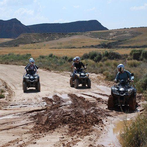 Ruta en Quad Bardenas Reales - Navarra