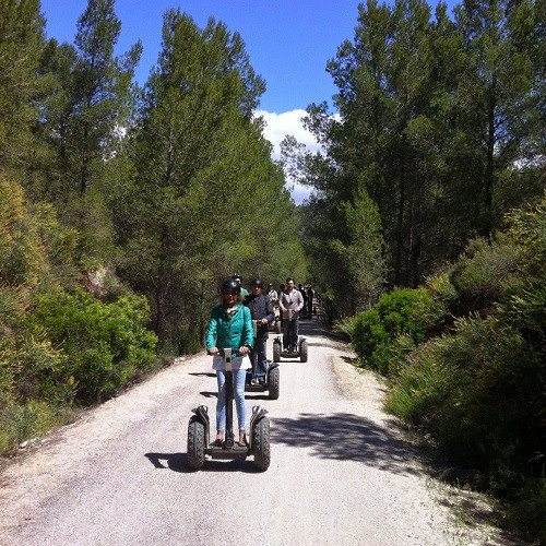 Ruta en Segway para 2 con comida - Barcelona
