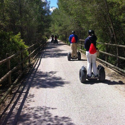 Ruta en Segway para 2 por la masia - Barcelona