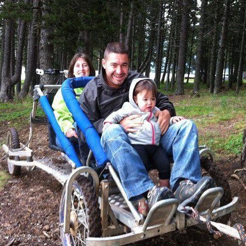 Ruta Mushing de verano para niños en Vallnord - Andorra