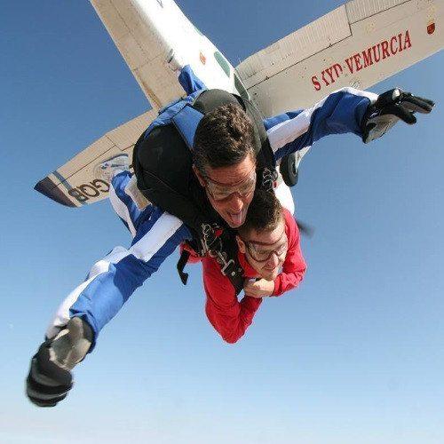 Salto Paracaidas Tandem con DVD - Murcia