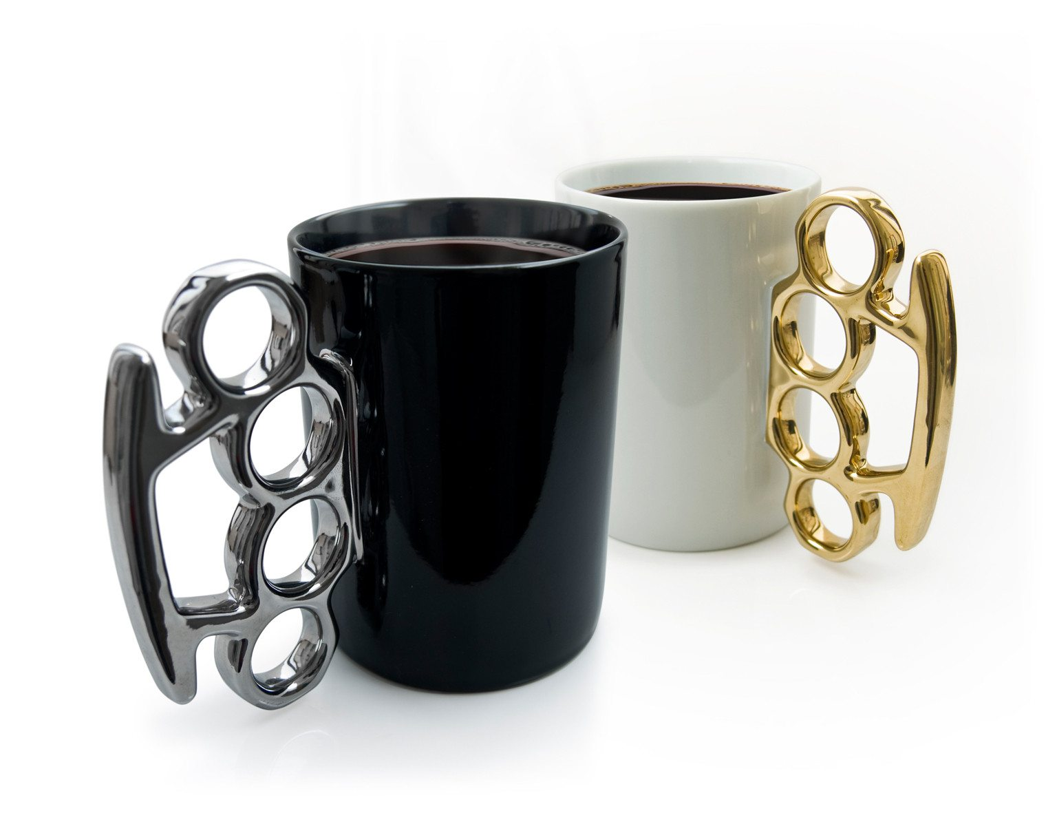 Schlagring Kaffeebecher