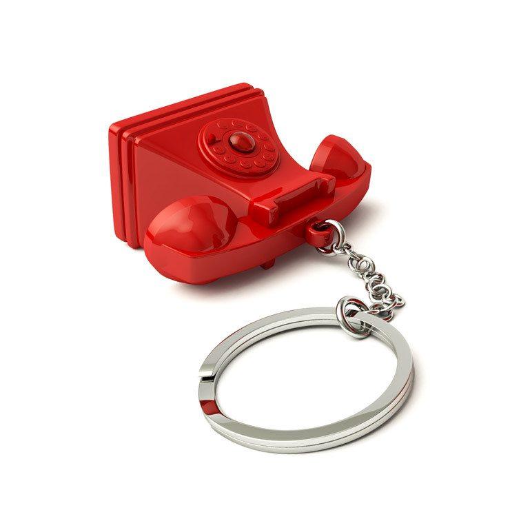 """Schlüsselfinder """"Telefon"""""""