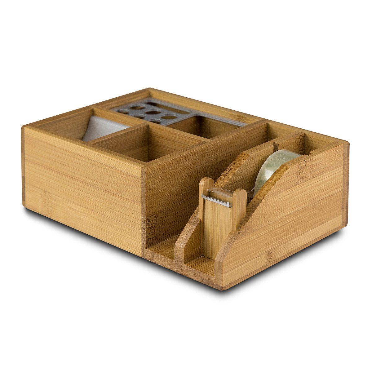 Schreibtisch-Organizer mit Gravur