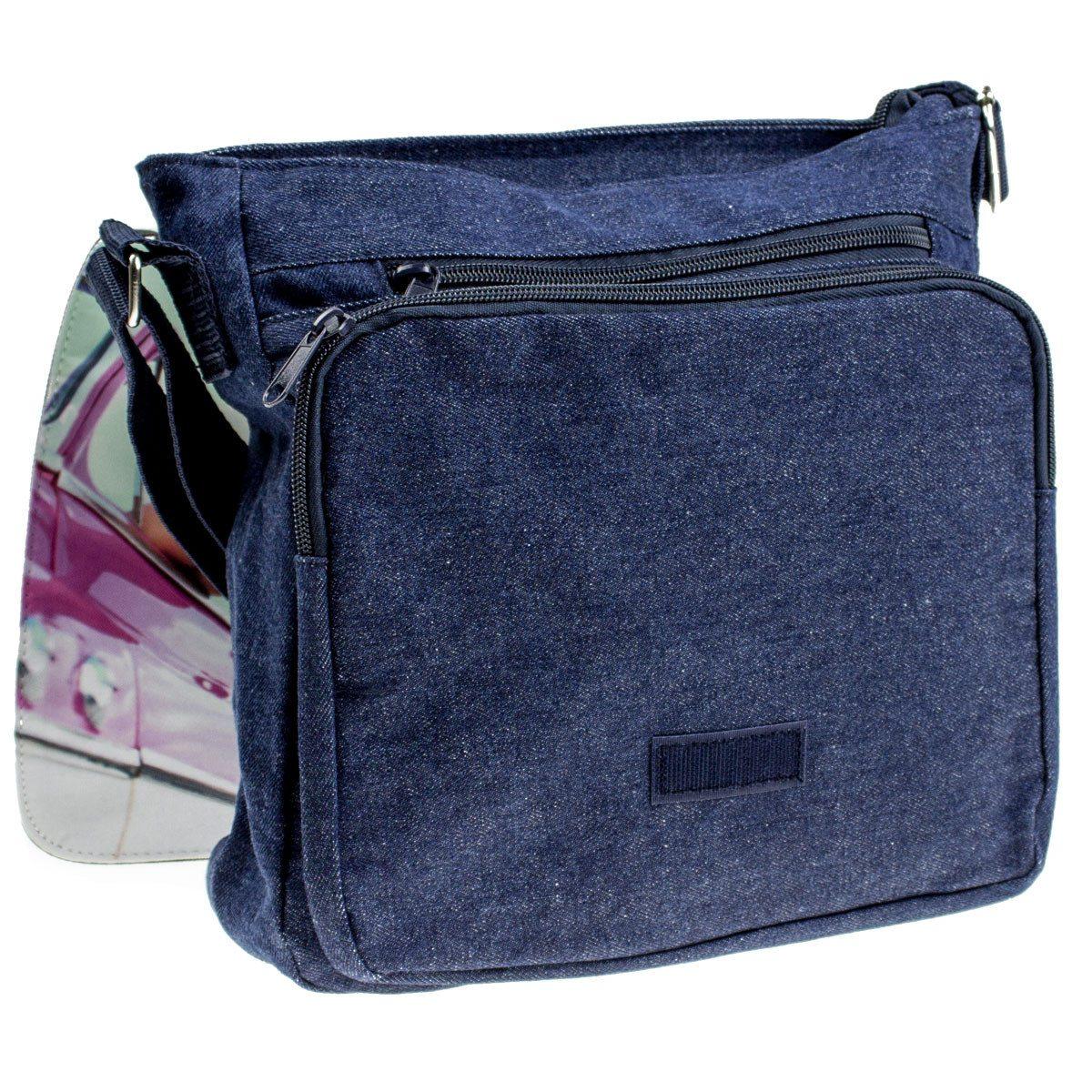 Schultertaschen mit persönlichem Fotodruck - Jeans