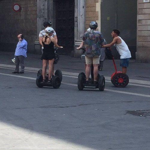 Segway tour por la ciudad de Barcelona