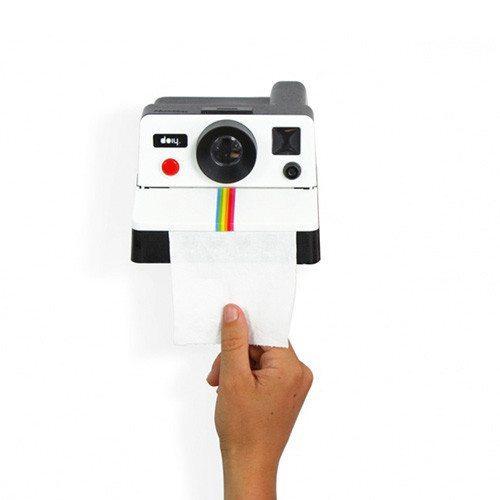 """Selfie auf dem Klo? Toilettenpapierhalter """"Kamera"""""""
