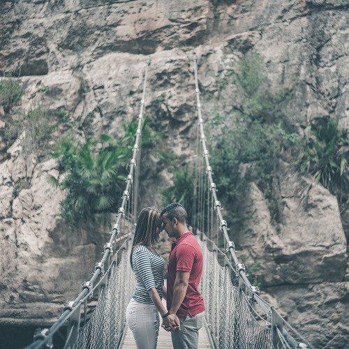 Sesión fotográfica para parejas en exterior - Valencia