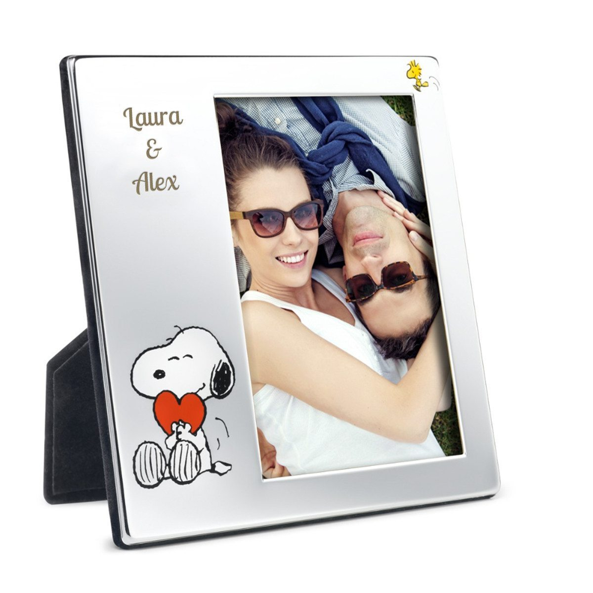 Snoopy-Bilderrahmen mit Gravur
