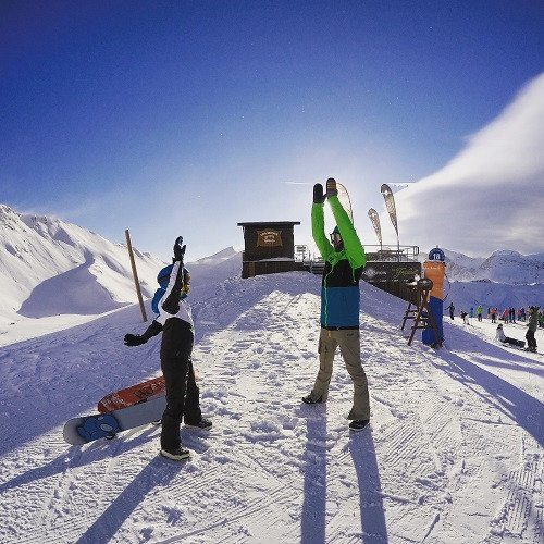 Snowboard Camp en pareja en Astún - Huesca - 7 días