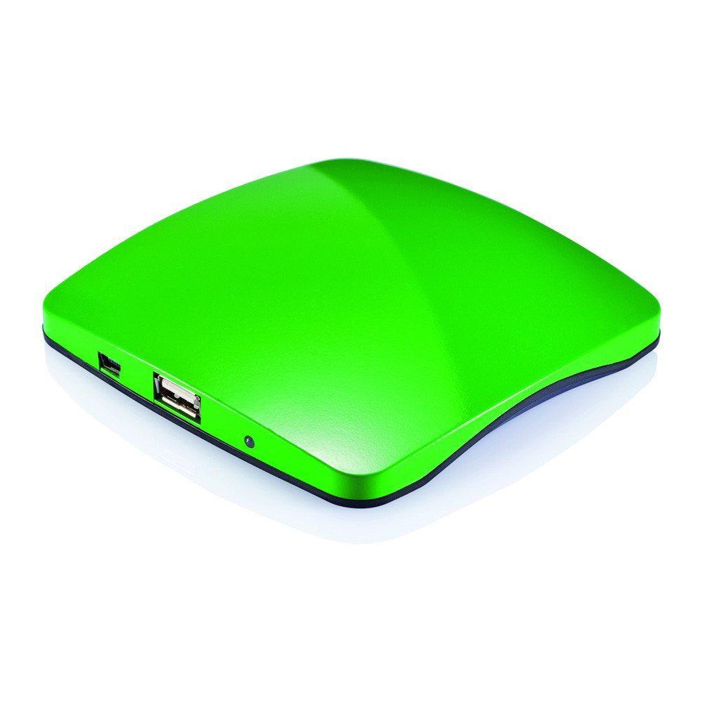 Solar-Aufladegerät für das Fenster grün