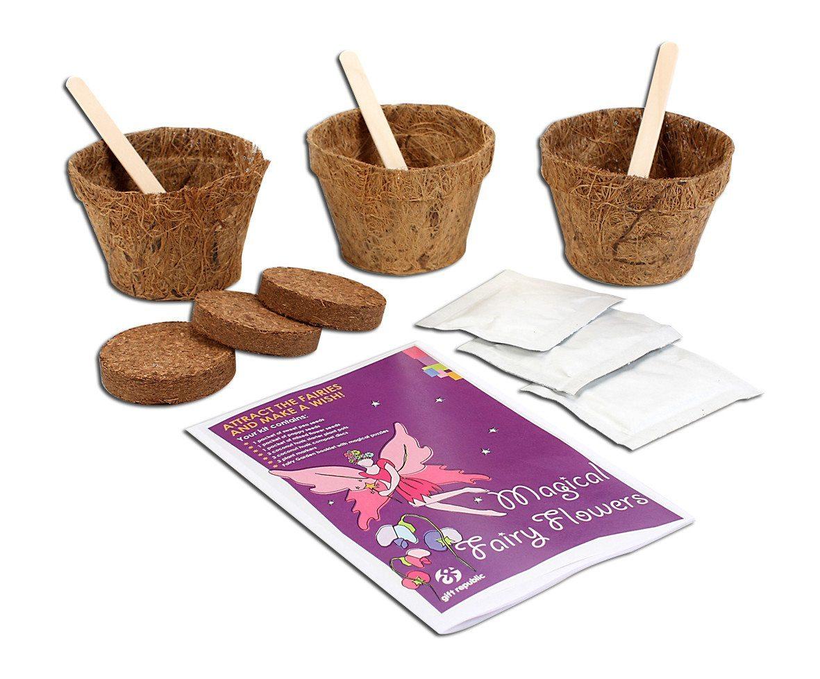 Sow & Grow Märchenhafte Blumen Set